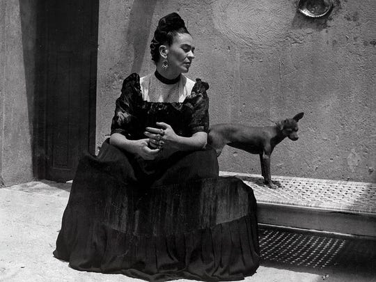 """""""Frida Kahlo: Her Photos"""" opens Oct. 31 at the Heard Museum."""
