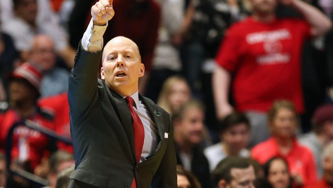 Coach Mick Cronin and his Cincinnati Bearcats men's basketball program are nearing the school record for season ticket sales.