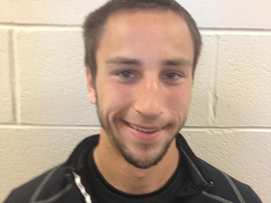 Prairie Heights soccer player Ryan Burkholder