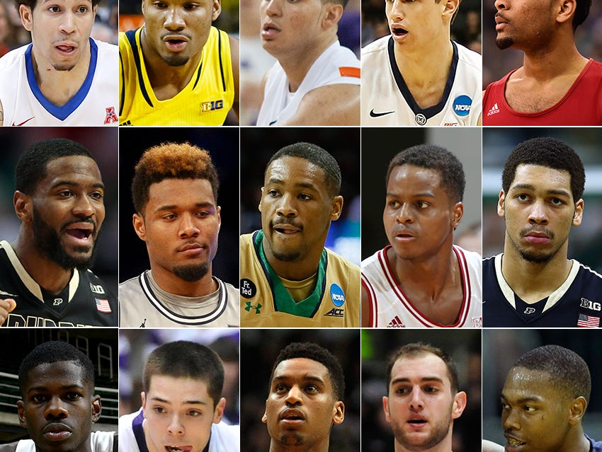 Plenty of talent on the 2015 IndyStar All-Indiana College Basketball team.