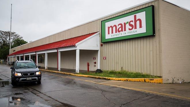 The Marsh Supermarket on Hoyt Avenue in Muncie.