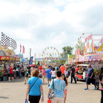 Expect 50 carnival rides at the Michigan State Fair