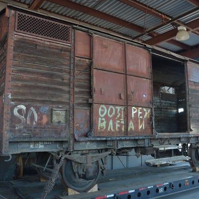 This Macedonian World War II-era rail car belongs to