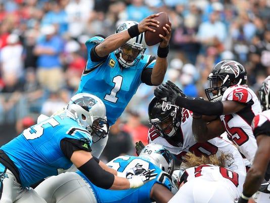 USP NFL: ATLANTA FALCONS AT CAROLINA PANTHERS S FBN CAR ATL USA NC