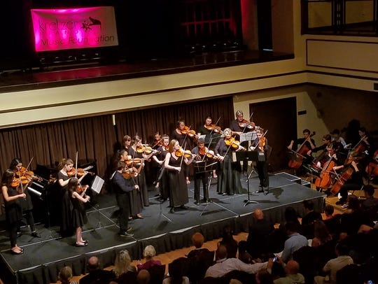 The Stuart School of Music in concert