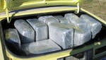 The trunk of a car stopped in 2005 along Interstate-44 contained 177 pounds of marijuana.