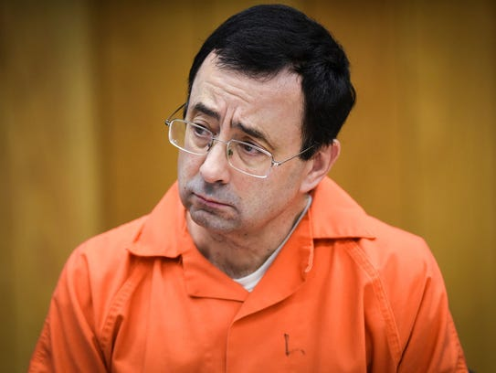 Larry Nassar is currently lodged in a federal prison