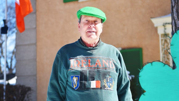 Patrick Murphy is ready for St. Patrick's Day Thursday,