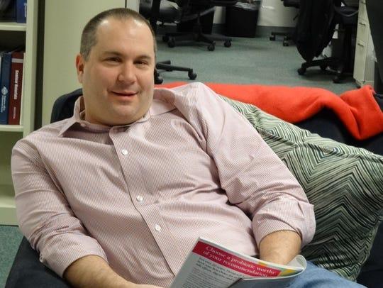 David Lucchino, CEO of Entrega.