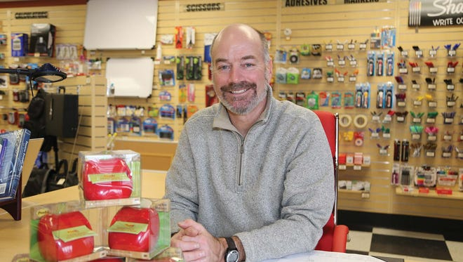 A visual business model keeps Bill Zimmermann's office supply business on track.