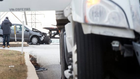 One was transported to York Hospital after a multi-vehicle crash midday Wednesday on Pennsylvania Avenue and Route 30, 911 confirmed.