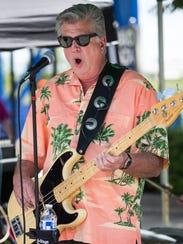 Reed Hadley, bassist and lead singer for The Twangabillies,