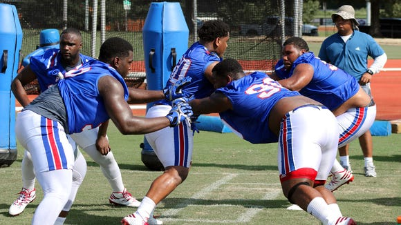 Louisiana Tech sophomore defensive tackle Courtney