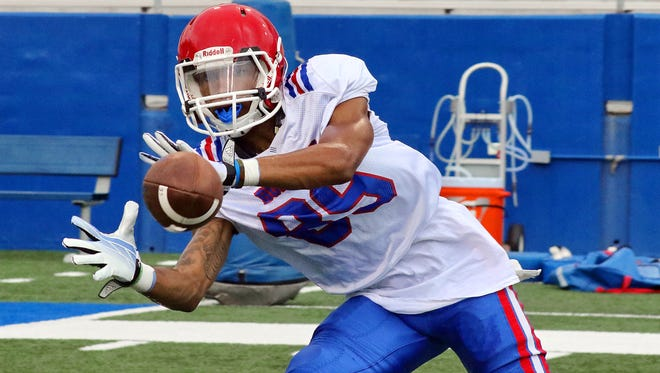 Louisiana Tech wide receiver Adrian Hardy is excelling as a true freshman in the Bulldogs' offense.