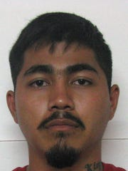 Liberty Joe Aguon Concepcion is shown in his booking photo upon his arrest Wednesday, April 6.