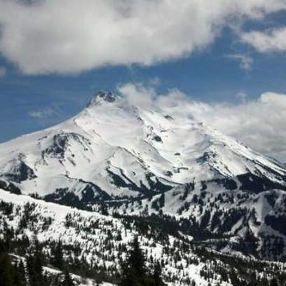 A search is underway for two climbers on Mount Jefferson