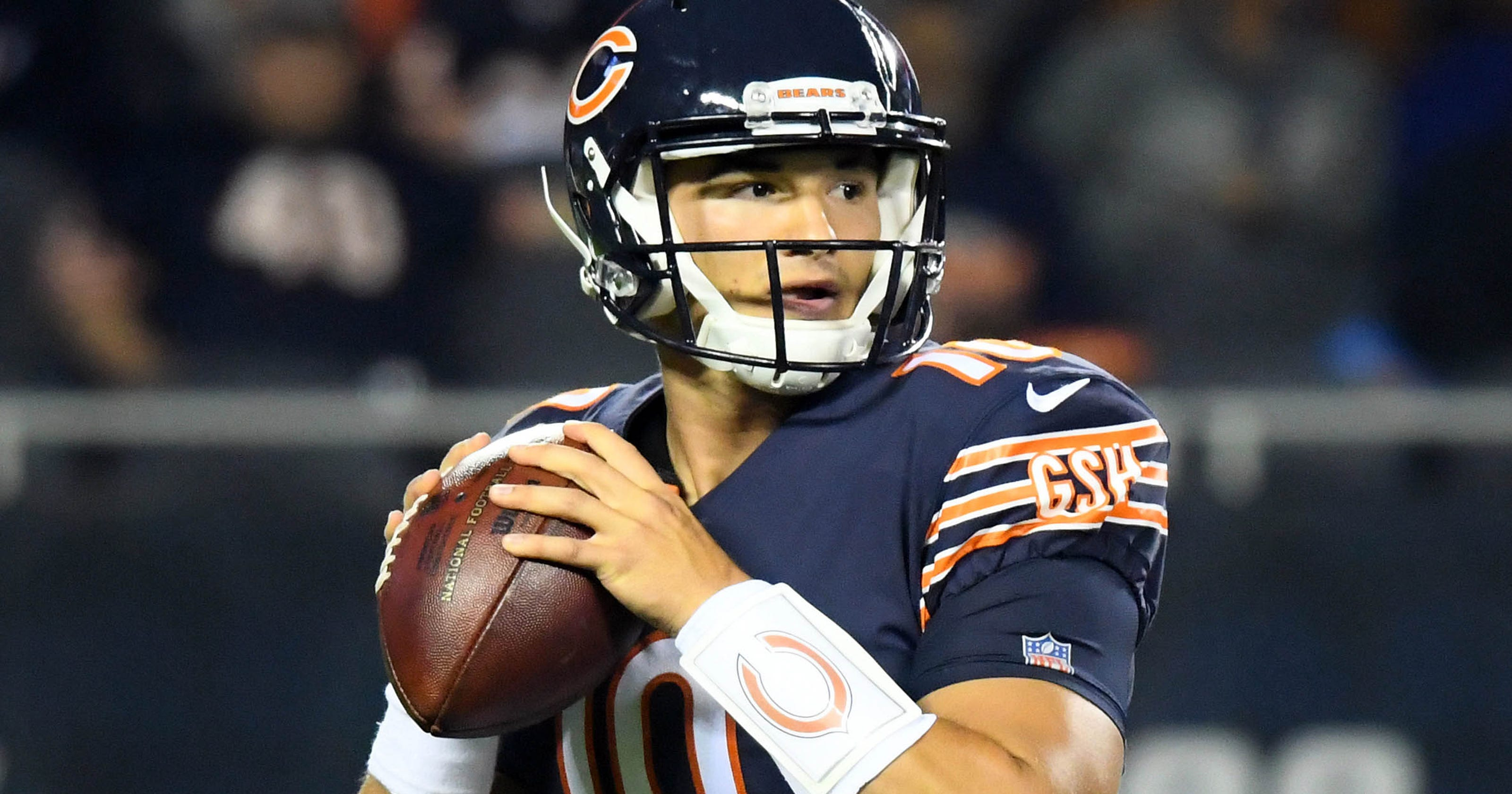 Chicago Bears to start Mitchell Trubisky at quarterback next week vs.  Vikings d4505a875