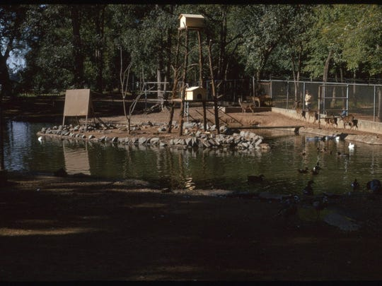 The Alexandria Zoo in 1972.