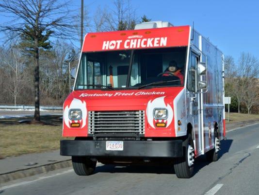 KFC food truck