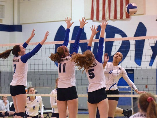 Fort Defiance's Jayden Beasley (11) had 261 kills and