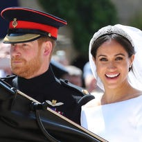 Scenes from Meghan Markle and Prince Harry's royal wedding