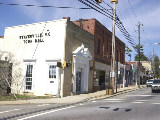 WEAVERVILLE TOWN HALL
