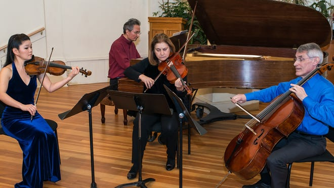 The Finger Lakes Chamber Ensemble leads off its 26th season with a programat 4 p.m. Sunday ath the Lodi Historical Society.