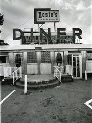 Little Ferry 7/5/73 Rosie's Diner.