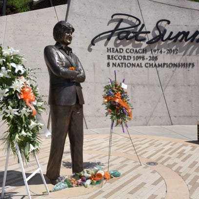 Pat Summitt Plaza is shown on Wednesday, June 28, 2017,