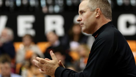 Oregon State's Jim Zalesky has been named Pac-12 Wrestling
