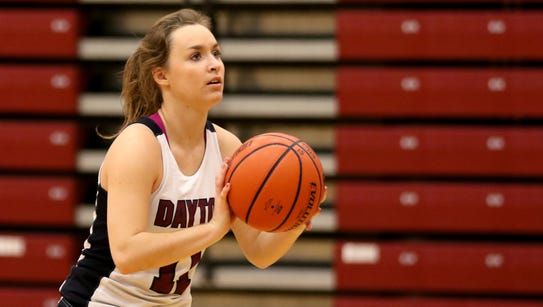 Junior Shawnie Spink leads the Dayton High School girl's