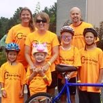 People of all ages supported the Portage County Boys & girls club in the seventh annual bike-a-thon, Aug. 8.