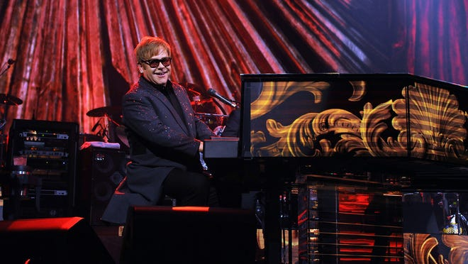 Elton John's 'Million Dollar Piano' show heads to movie theaters in March.