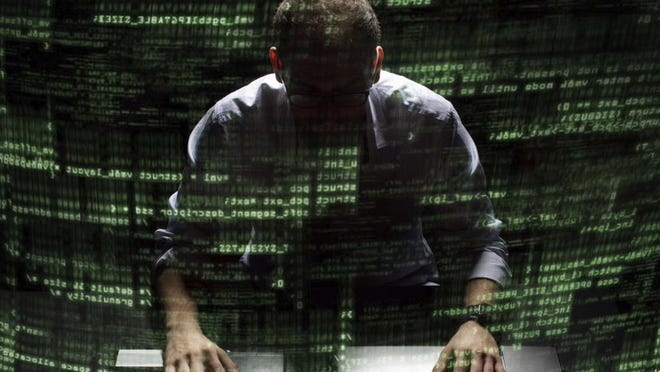 Hackers prey on computer users' data.