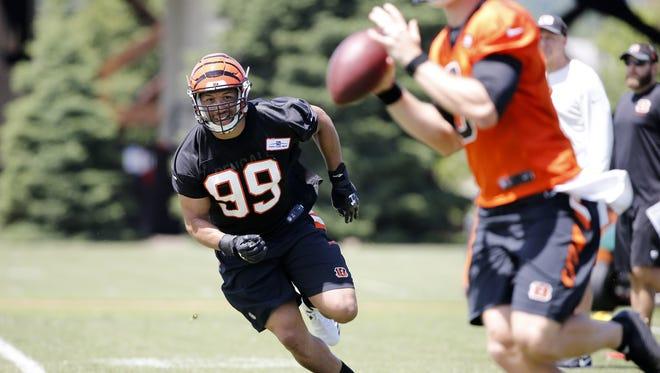Cincinnati Bengals defensive end Jordan Willis signed his rookie contract on Thursday.