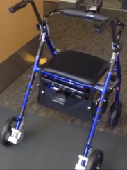 The Smart Walker in development: a potential high-tech