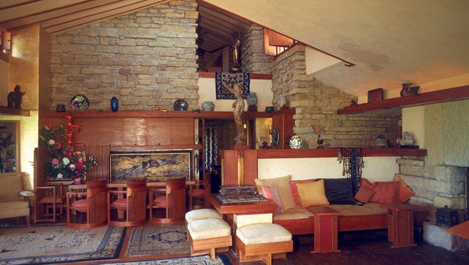 Frank Lloyd Wright's longtime Wisconsin estate, Taliesin, is near Spring Green and among the properties that will recognize the 150th anniversary of the architect's birth this year.