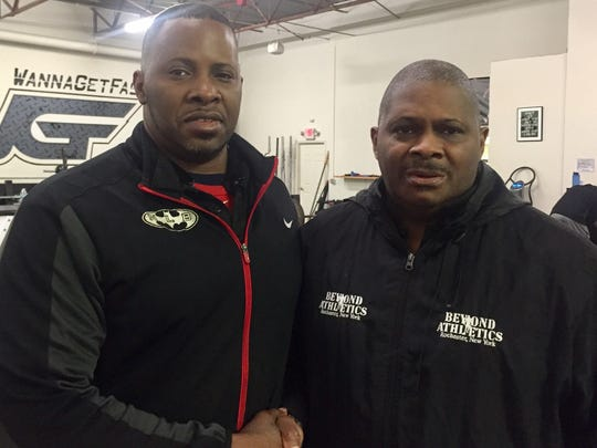 Brothers Kala and Rick Gause, operators of Beyond Athletics and Next Level and Beyond.