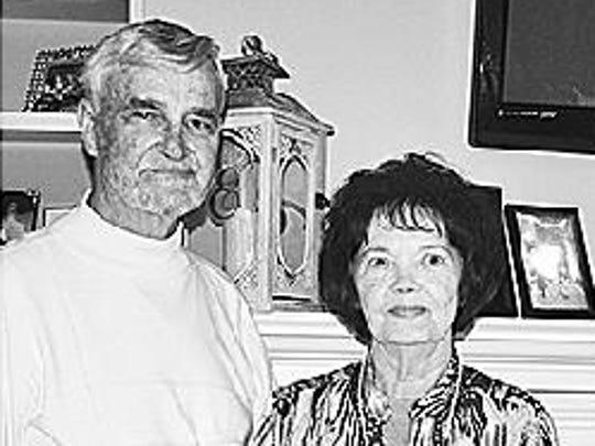 Gene and Linda Harness Carter anniversary