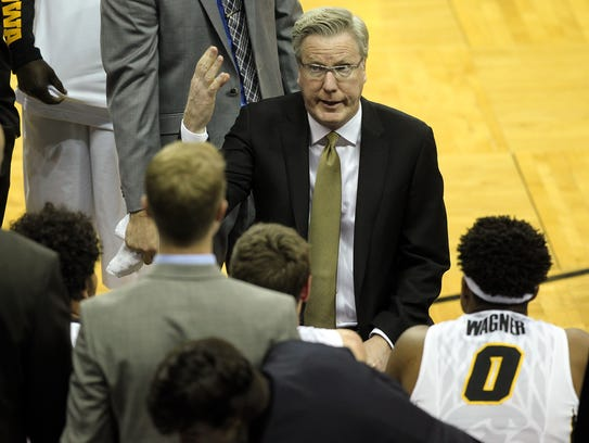 Iowa men's basketball coach Fran McCaffery is expected