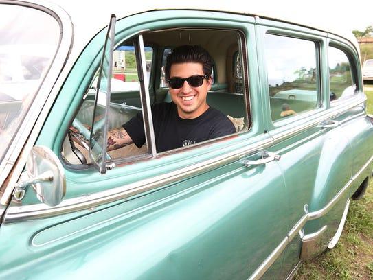 Danny Gatt of Garden City brought his 1954 Chevy wagon