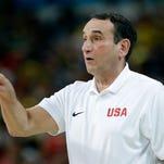 Go USA! Go Coach? For US basketball fans, Olympics a change