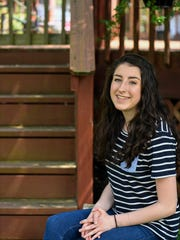 Courtney Franke, a high school senior at Franklin Classical