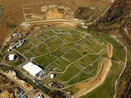 The Lipari Landfill Superfund site