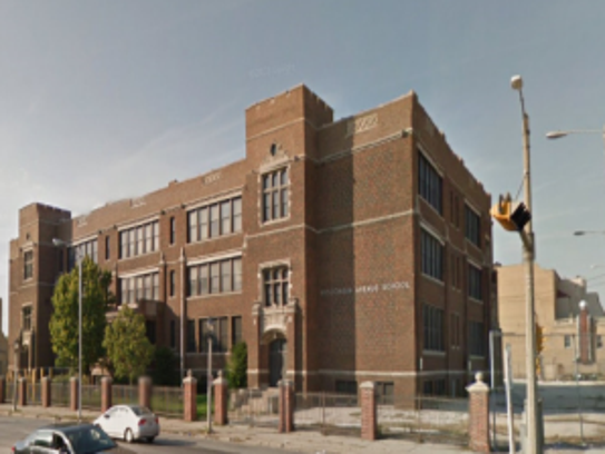 The former Wisconsin Avenue School would be converted
