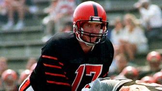 It all started in Jersey: Jason Garrett plays quarterback for Princeton University.