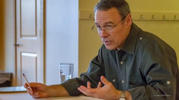 Democratic congressional candidate Andy Millard