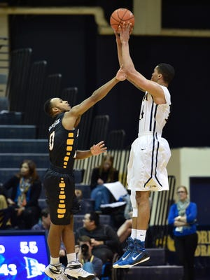 Shadell Millinghaus, left, was dismissed from Southern Miss on Friday.