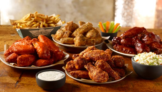 Wingstop offers wings with 11 different sauces.