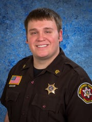 Sgt. Andrew LaCrosse, jail sergeant for the Manitowoc County Sheriff's Department.